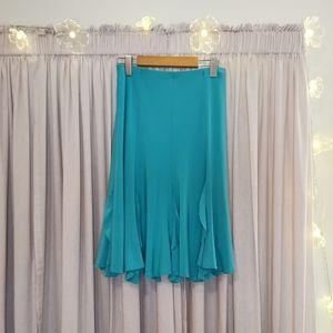 NWOT Turquoise Sympli Skirt